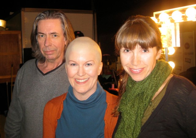 Ed French, Kate Flannery and me.