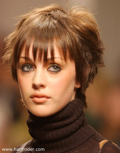 Pixie Neck Hair Bed Head Hair Look With A Combination Of A Pixie And A