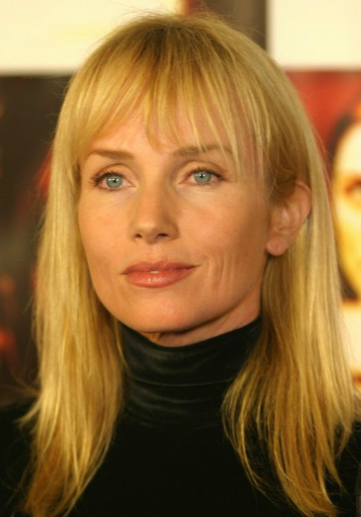 Black Hairstyles With Short Hair Turtlenecked Rebecca De Mornay With Long Sunny Blonde Hair