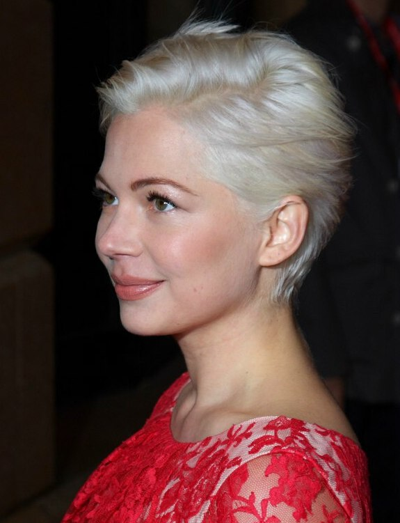 Hair Do Up Style Michelle Williams Easy To Do For Yourself Short Hairstyle