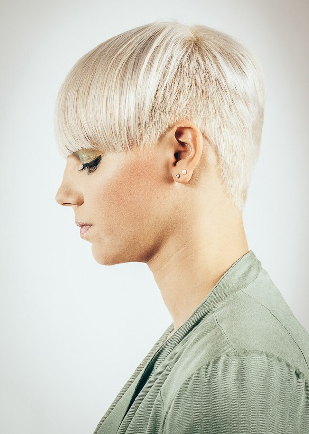 Straight Hair Cutting Video Hairstyle With Very Short Sides And Back And A Wide Long