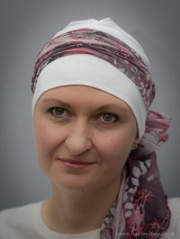 Hats, scarves and turbans for chemo & alopecia patients
