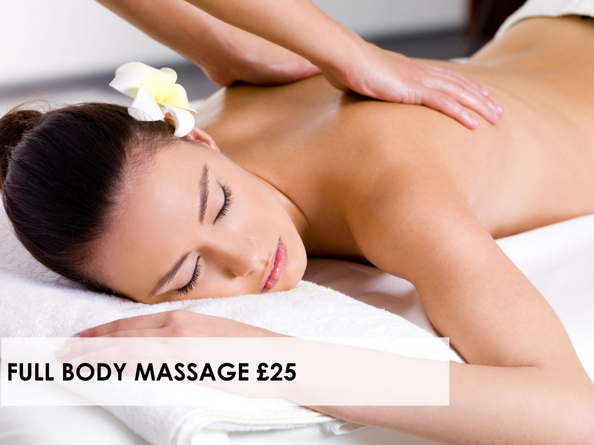 Where Can I Get Full Body Massage January Massage Offer At Award Winning Ipswich Beauty Salon