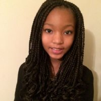 Short Curly Box Braids Hairstyles - HairStyles
