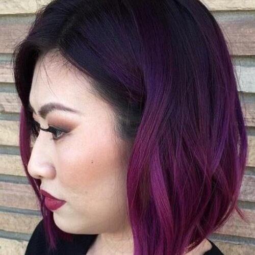 Balayage Violeta Cabello Corto 50 Fabulous Purple Hair Suggestions Hair Motive Hair Motive