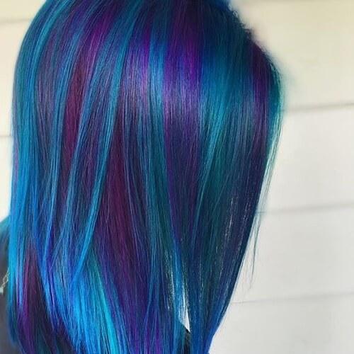 50 Mermaid Hair Colors & Styling Ideas