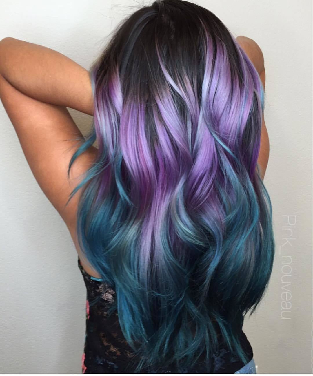 Lila Blaue Haare 50 43 Great Purple Ombre Trends Of 2018 Plum Lilac