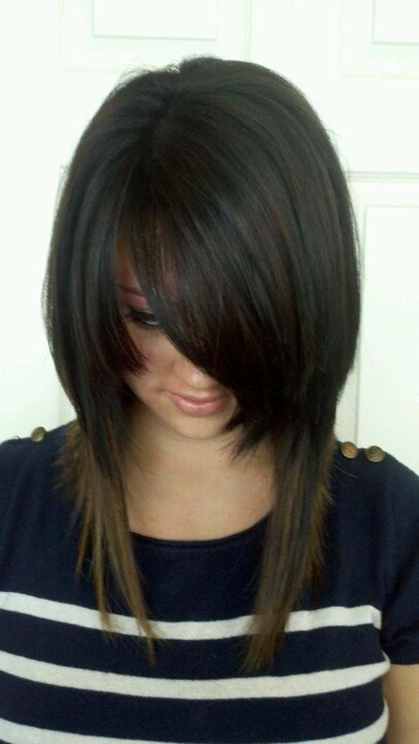 Layered Hair Problems Long Inverted Bob Hairstyle Hairstyle Archives