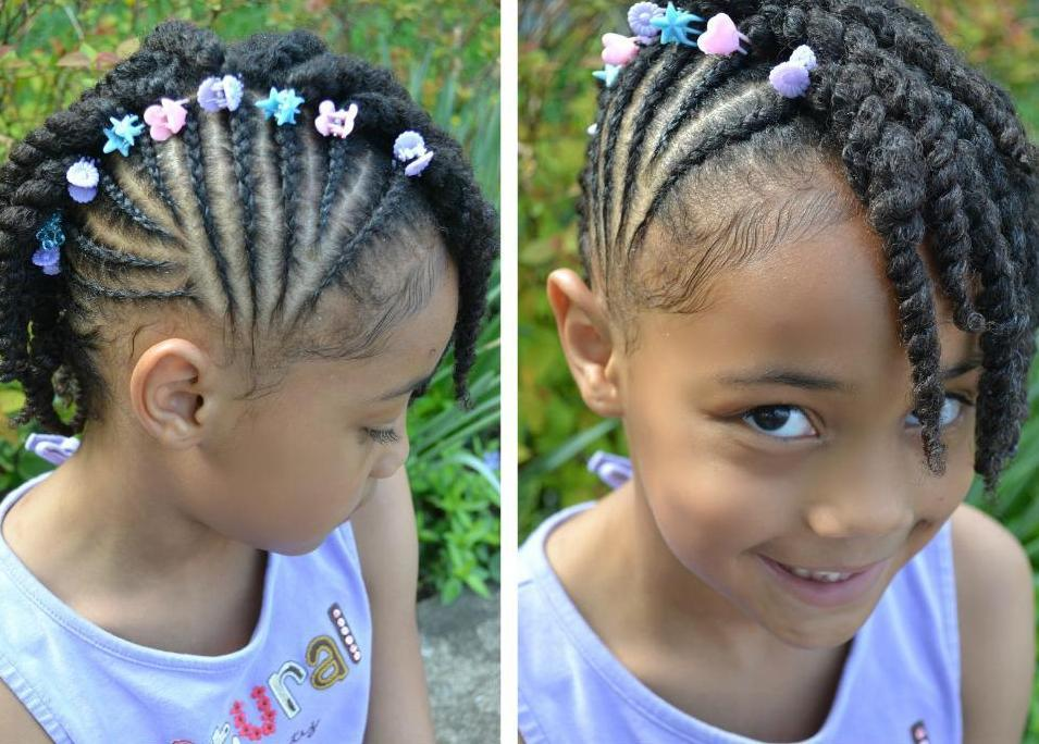 Side Braids Hairstyles For Kids