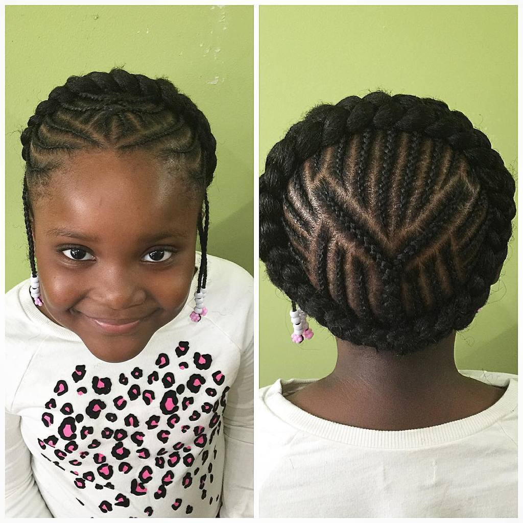 40 Fun Funky Braided Hairstyles For Kids Hairstylecamp