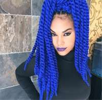 10 Bodacious Blue Box Braids for Women  HairstyleCamp