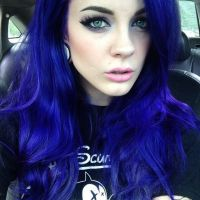 7 Statuesque Navy Blue Hair Color Ideas - HairstyleCamp