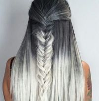 How to Dye Two-Toned Hair + 20 Best Two Tone Hairstyles