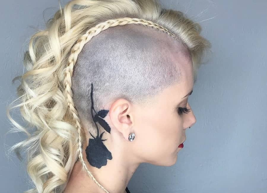 Medium Hairstyle And Color 8 Peerless Mohawk Hairstyles For Blonde Women