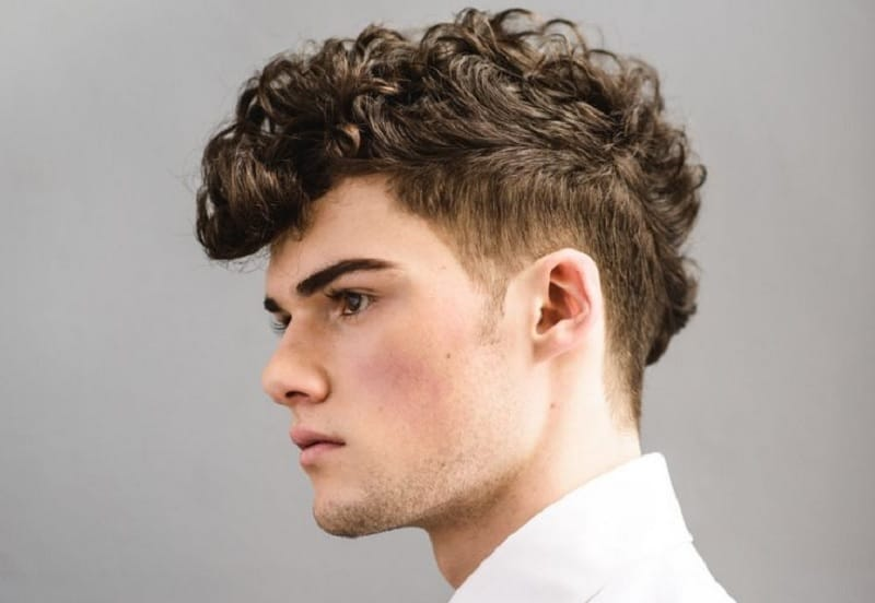 Brown To Blonde Balayage Short Straight Hair 25 Curly Undercut Hairstyles For Men To Rock This Season