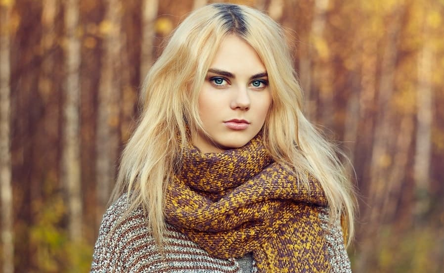 Blonde Hair With Black Roots 20 Fabulous Blonde Hair With Dark Roots Styles To Try