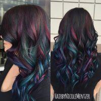 15 Sumptuous Peekaboo Hair Color Ideas - HairstyleCamp