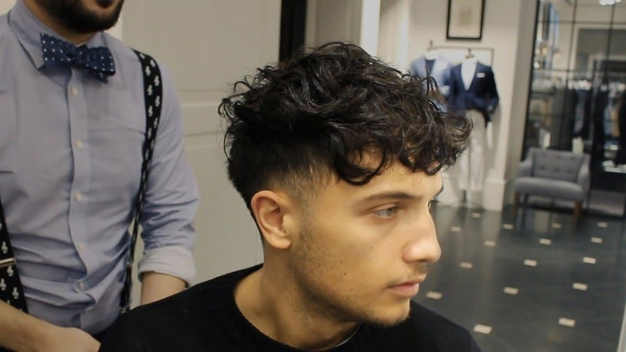 Pixie Cut Round Face 10 Exciting Taper Fades With Curly Hair For Men 2019 Update