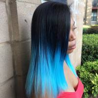 How To Dye Your Hair Ombre Style At Home | Hair Color and ...