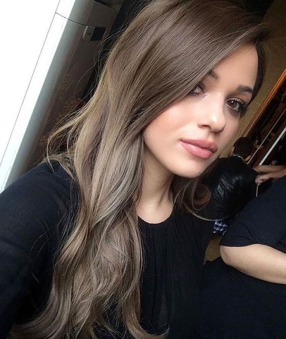 Olia Schwarz 35 Smoky And Sophisticated Ash Brown Hair Color Looks