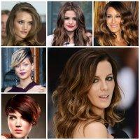 2016 Hottest Highlights for Dark Hair | 2019 Haircuts ...