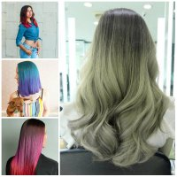 Two-Tone Hair Colors for 2017   2019 Haircuts, Hairstyles ...