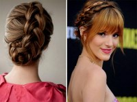 Top 17 Simple and Effective Braid Hairstyles With Bangs ...