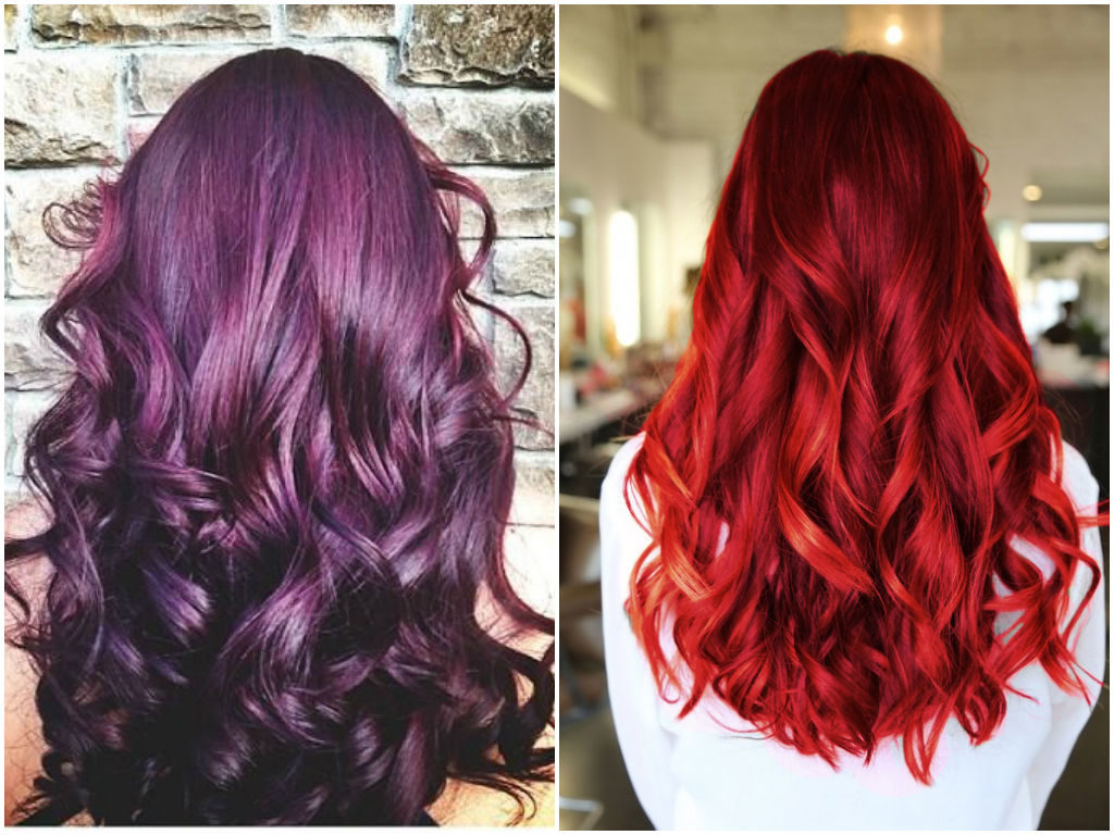 Haarfarbe Dunkelrot Lila Top 20 Transformations With Maroon Hair Color Hairstyles
