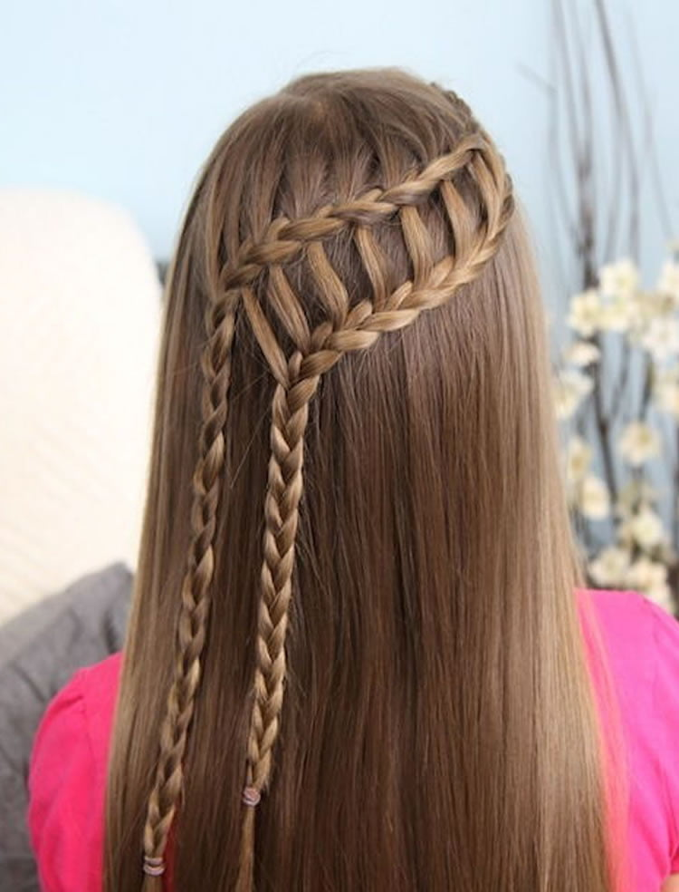 Hair Braids Undercut 100 Chic Waterfall Braid Hairstyles – How To Step By Step