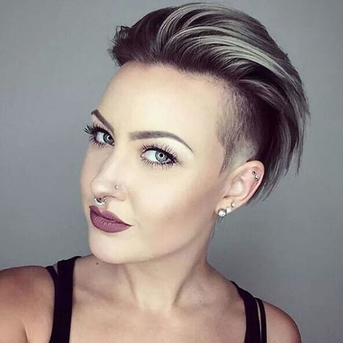 Lady Middlebrow: Short Undercut Hairstyles Men Fade