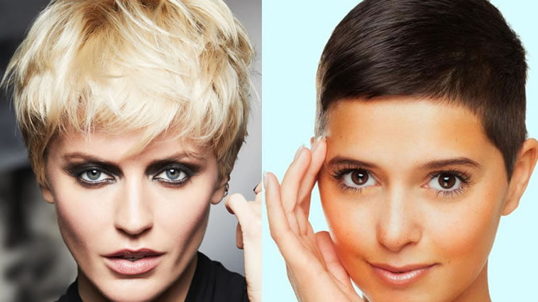 Hairstyles For Short Hair Over 70 Short Pixie Haircuts For Women 2020 – Trendy Hair Color