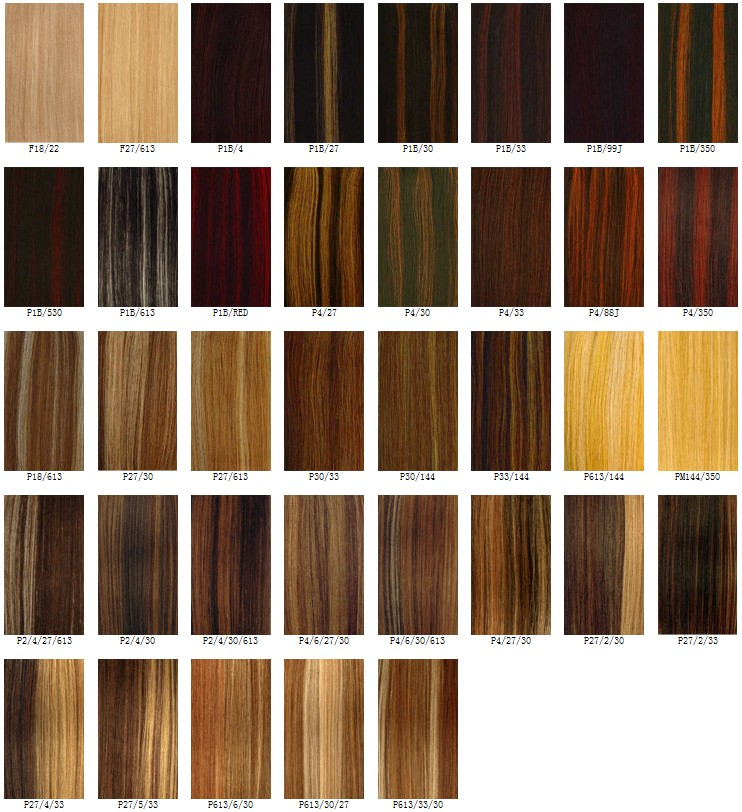 Best Hair Color Charts - Hairstyles Weekly - hair color chart