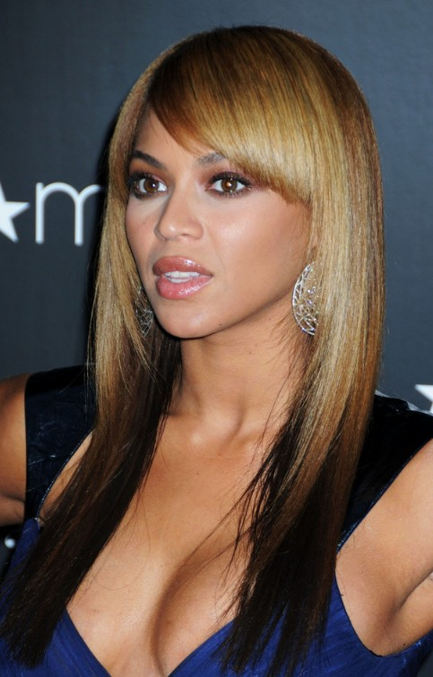 Female Hairstyles Layered Beyonce Knowles Light To Dark Ombre Hair Hairstyles Weekly