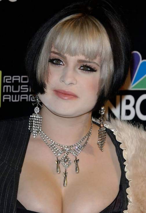 Blond Bob Short Kelly Osbourne Hairstyle Inverted Bob Hairstyles Weekly