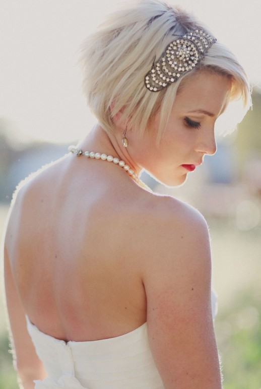 Female Hairstyles Layered Short Wedding Hairstyles For Those Who Want To Remain