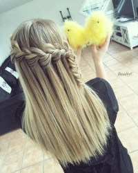 20 Best Waterfall Braid Hairstyle Ideas - Hairstyles Weekly