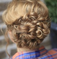 20 Amazing Braided Hairstyles for Homecoming, Wedding & Prom