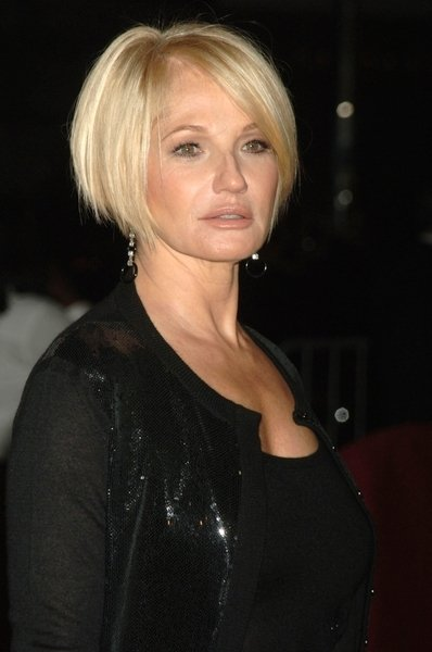 Bob Hairstyles The Back View Ellen Barkin Hairstyle