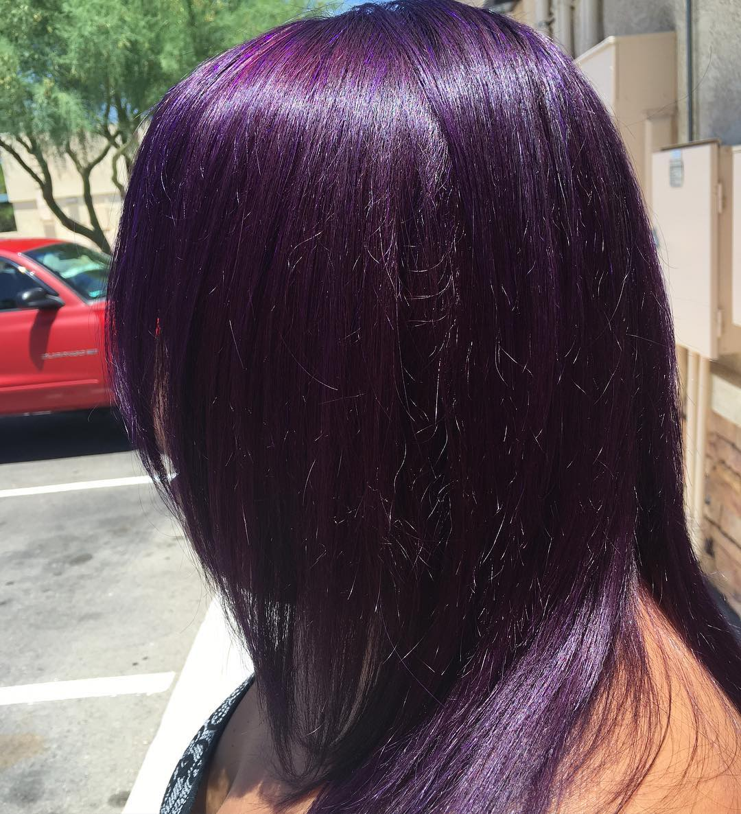 Haarfarbe Dunkelrot Lila 50 Stylish Dark Purple Hair Color Ideas Destined To