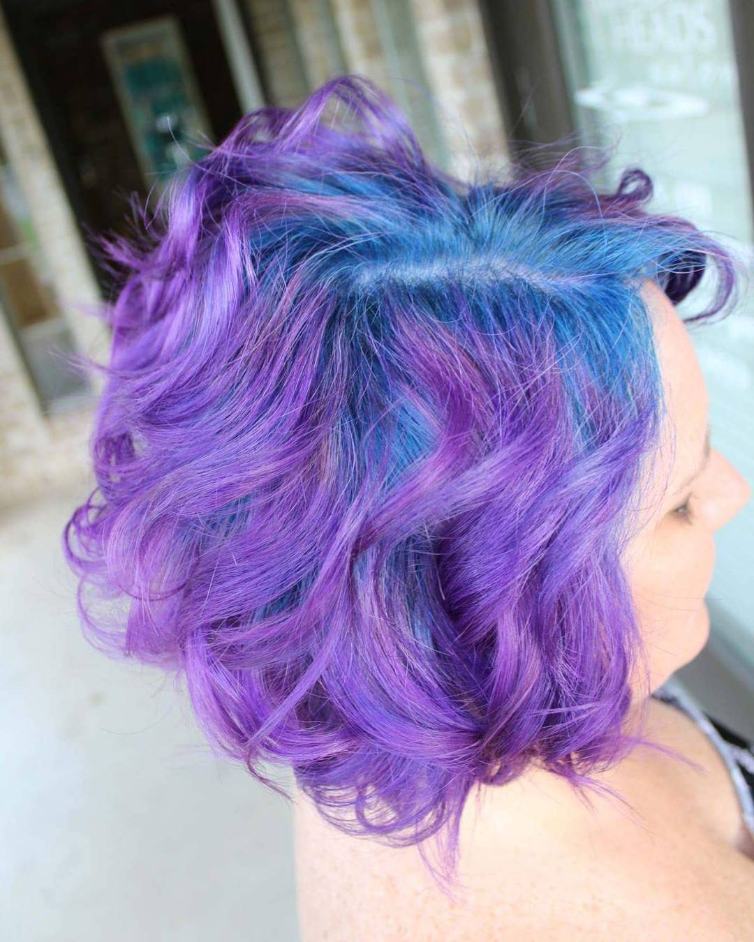 Lila Blaue Haare 35 Stunning Blue And Purple Hair Ideas Fantasy Colors