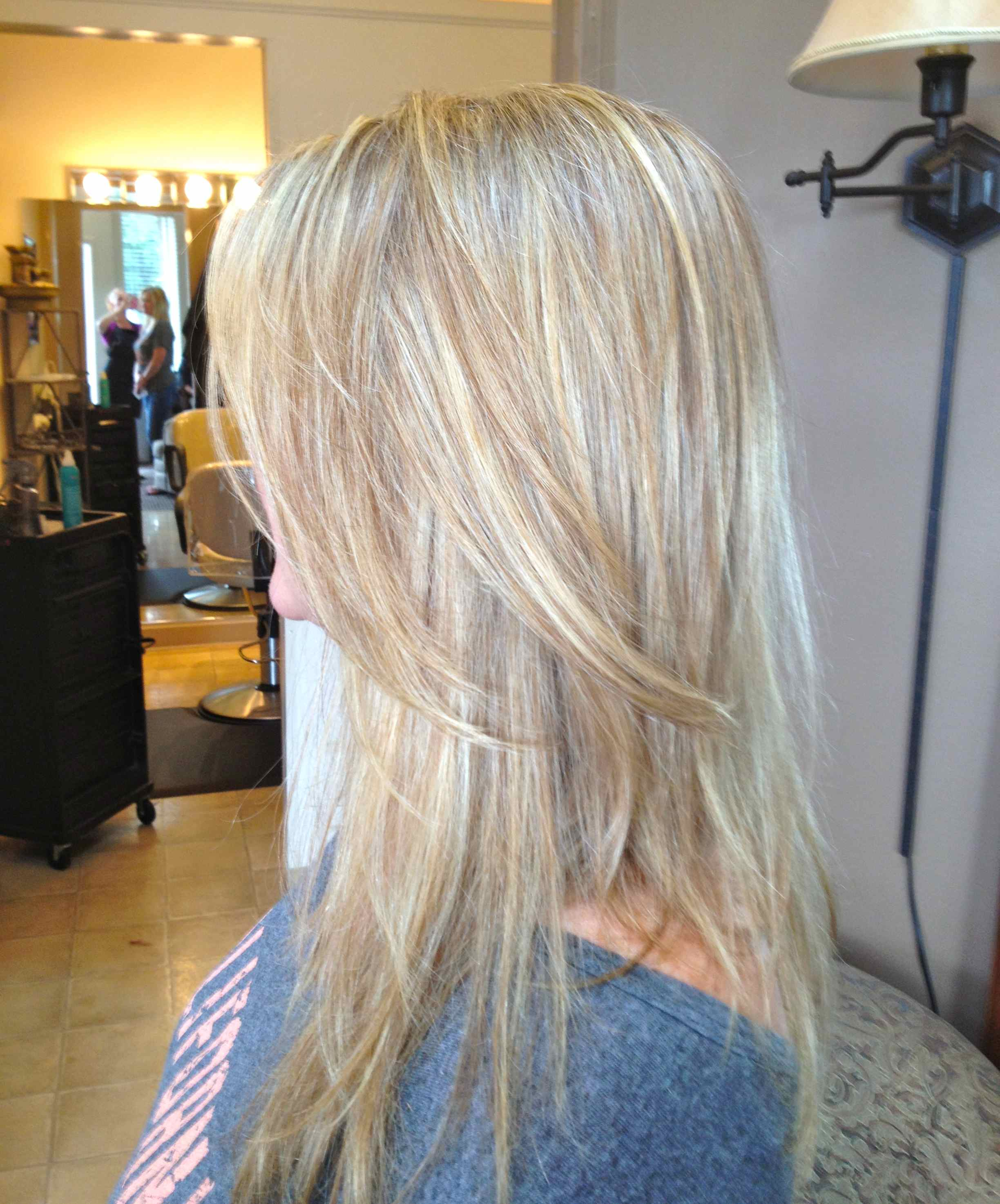 Highlights Blond Bob With Highlights And Lowlights Short Hairstyle 2013