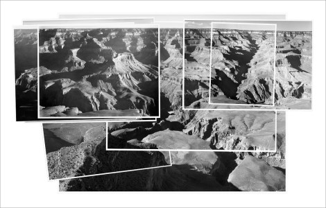 Mark Klett and Byron Wolfe. Combined record of Ansel Adams' photographs made over the course of an entire day, Yavapai Point.