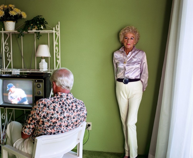 Larry Sultan. My Mother Posing for Me.