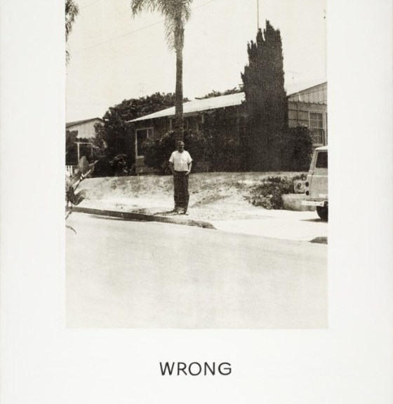 John Baldessari, Wrong.