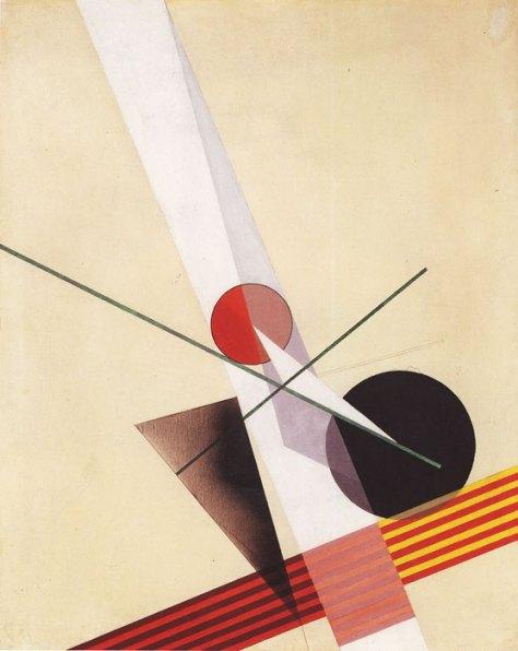 Laszló Moholy-Nagy, Composition A XXI, 1925