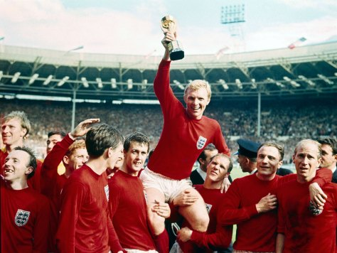 Bobby Moore. 1966. Rolls Press/Popperfoto/Getty Images.