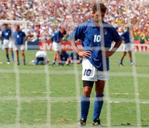 Roberto Baggio. 1994. Luca Bruno/AP.