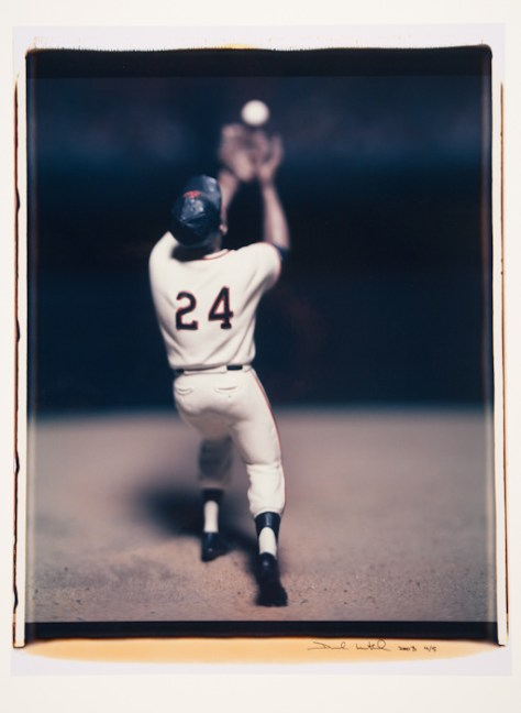 David Levinthal; Untitled (Willie Mays, No. 43), from the series, Baseball