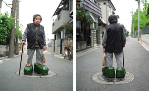 Tatsumi Orimoto. Small Mama & Big Shoes.