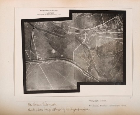 "Edward Steichen, ""In Chateau Thierry Sector showing service bridges destroyed by retreating enemy forces"""